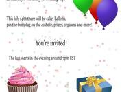 Birthday Invitation!
