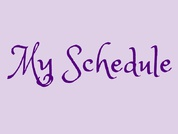 My Schedule